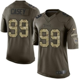Nike Titans #99 Jurrell Casey Green Men\'s Stitched NFL Limited Salute to Service Jersey