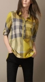 Burberry long shirt woman S-XXL (9)