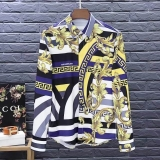 Versace long shirt man M-XXXXL(good quality) (1)