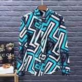 Versace long shirt man M-XXXXL(good quality) (3)