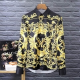 Versace long shirt man M-XXXXL(good quality) (5)