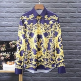 Versace long shirt man M-XXXXL(good quality) (4)