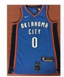 Oklahoma City Thunder #0 Kevin Durant new Blue NBA Jersey
