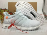 Adidas Super Max Perfect Off-White X Ultra Boost 3-0 Triple White Men And Women Shoes -LY(1)