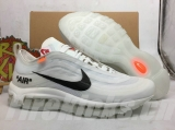 Perfect Nike Air Max 97 X OFF-WHITE Men Shoes -HLD (5)