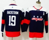 Washington Capitals #19 Black Red NHL  Children's Jersey (2)