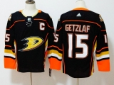 Anaheim Ducks #15 Black NHL Jersey (2)