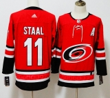 Carolina Hurricanes #11 Red NHL Jersey (4)