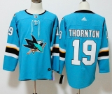 San Jose Sharks #19 Blue NHL Jersey (1)