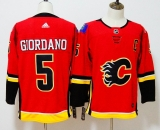 Calgary Flames #5 Red  NHL Jersey (2)