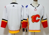 Calgary Flames White  NHL Jersey (4)