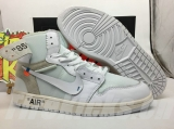 "Super Max Perfect  OFF-WHITE x Air Jordan 1 ""White"""