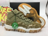 "Authentic Air Jordan 11 GS""Neutral Olive"" WMNS"