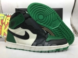 "(Final version)Authentic Air Jordan 1 ""Pine Green"""