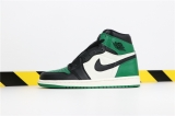 "Perfect Air Jordan 1 ""Pine Green"" Women Shoes -SY"