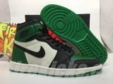 "Perfect Air Jordan 1 ""Pine Green"" Men Shoes -SY"