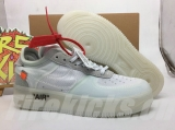 Super Max Perfect Nike OFF-WHITE X Air Force 1 Men And Women Shoes-JB(18)