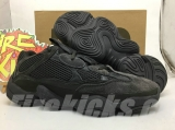 "Super Max Perfect Adidas Yeezy 500 ""Utility Black"" Men And Women Shoes-LY"