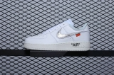 OFF WHE ITx MoMa x Virgil x Nike Super Max Perfect Air Force 1 07 Men And Women Shoes (98%Authentic)-JB (150)