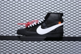 OFF WHITE x Nike Super Max Perfect Blazer Mid Men And Women Shoes(98%Authentic)-JB (76)