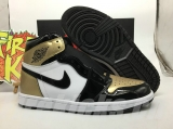 "Authentic Air Jordan 1 NRG ""Gold Toe"""