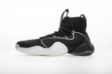 "Pharrell adidas Crazy BYW X ""Black White""Men Shoes -LY"