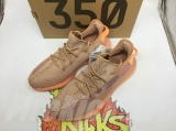 "Super Max Perfect Adidas Yeezy 350 Boost V2""Clay""Men And Women Shoes -LY"