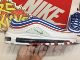 "Nike Super Max Perfect Air Max 97 ""Beige White"" Men And Women Shoes(98%Authentic)-JB (154)"