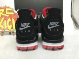 "Super Max Perfect Air Jordan 4 ""Bred"" Women Shoes -SY"