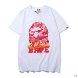 BAPE short round collar T man M-2XL (91)