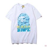 BAPE short round collar T man M-2XL (92)