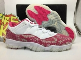 "Authentic Air Jordan 11 Low ""Pink Snakeskin""-ZL"