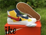 Sacai x Authentic Nike Blazer Mid Men Shoes -ZL (1)