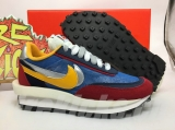 Sacai x Authentic Nike LDWaffle Blue Multi Men And Women Shoes -ZL(2)