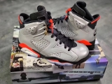 "(Final version)Authentic Air Jordan 6 ""Reflective Bugs Bunny""-DG"