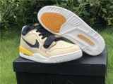 "Super Max Perfect Air Jordan Legacy 312 Low ""Pale Vanilla""Men Shoes -ZL"