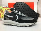 Sacai x Authentic Nike LDWaffle Black/White Men And Women Shoes -Dong (1)