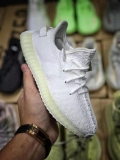 "Super Max Perfect Adidas Yeezy 350 Kid Boost V2 ""Cream White ""(Real Boost-98%Authentic)- JB"