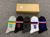 2019.7 (With Box) A Box of Burberry socks -QQ (8)