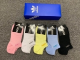 2019.7 (With Box) A Box of Adidas Socks -QQ (7)