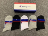 2019.7 (With Box) A Box of Champion Socks -QQ (10)