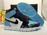 "Authentic Air Jordan 1 ""UNC Patent"" -ZL"