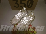 "Super Max Perfect Adidas Yeezy 350 Kid Boost V2 ""Lundmark Reflective""(Real Boost-98%Authentic)- JB"
