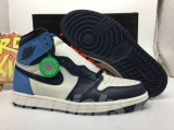 "(Final version)Authentic Air Jordan 1 Retro High OG ""Obsidian""-ZLTG"