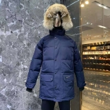 2019.10 Canada Goose Down Jacket 30 With Removable Real coyote fur ruff Women-BY (86)