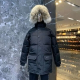 2019.10 Canada Goose Down Jacket 30 With Removable Real coyote fur ruff Women-BY (87)