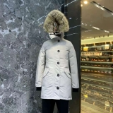 2019.10 Canada Goose Down Jacket 11 With Removable Real coyote fur ruff Women-BY (56)