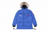 2019.10 Canada Goose Down Jacket 150th anniversary With Removable Real coyote fur ruff Women-BY (61)