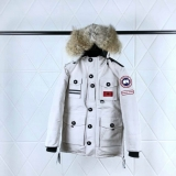 2019.10 Canada Goose Down Jacket 150th anniversary With Removable Real coyote fur ruff Women-BY (60)