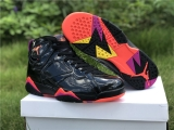 "Authentic Air Jordan 7 ""Black Patent Leather"" GS - ZL"